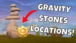 SEARCH FOR GRAVITY STONES LOCATIONS (Predictions) | Fortnite Week 5 Challenges