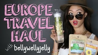 Europe Travel Haul With Bellywellyjelly – PrettySmart: Episode 23