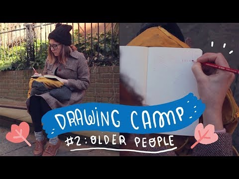 Drawing CAMP! chapter two: Older people ~ Frannerd