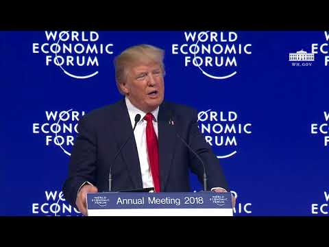 President Trump Addresses the World Economic Forum