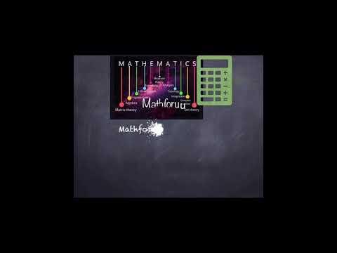 Mathforuu Intro Math For You Math For U
