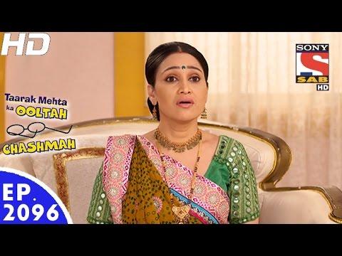 Taarak Mehta Ka Ooltah Chashmah - तारक मेहता - Episode 2096 - 19th December, 2016
