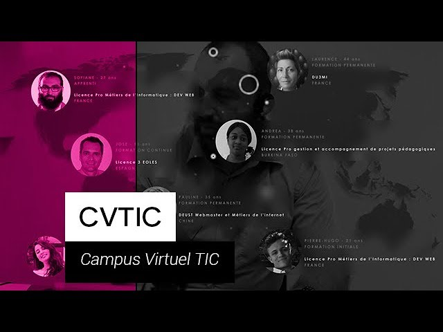 CVTIC - Le Campus virtuel TIC