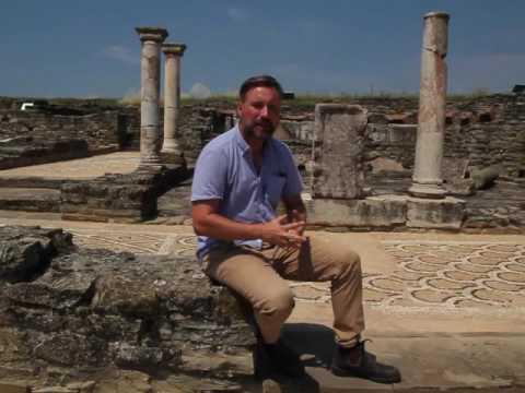 Dr George Bevan (Queen's University, Canada) about the Balkan Heritage Field School at Stobi