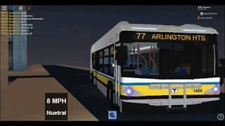 ROBLOX: MBTA XN40 (77) @ Test Station 2