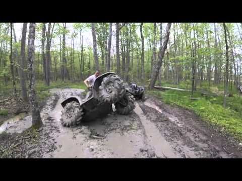 Polaris Sportsman 850 Highlifter Doing Work!