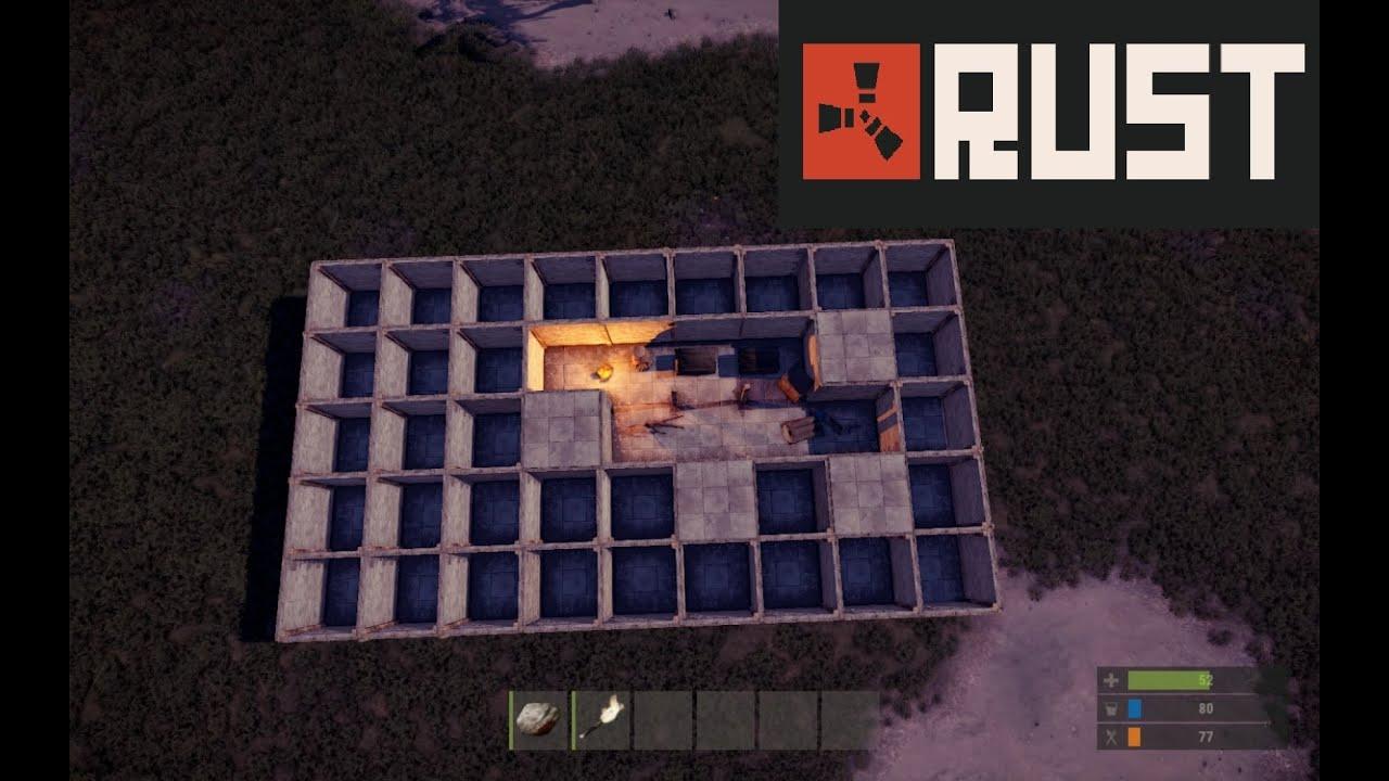 Rust Base Tips: Honeycombs, airlocks, & elevators - YouTube