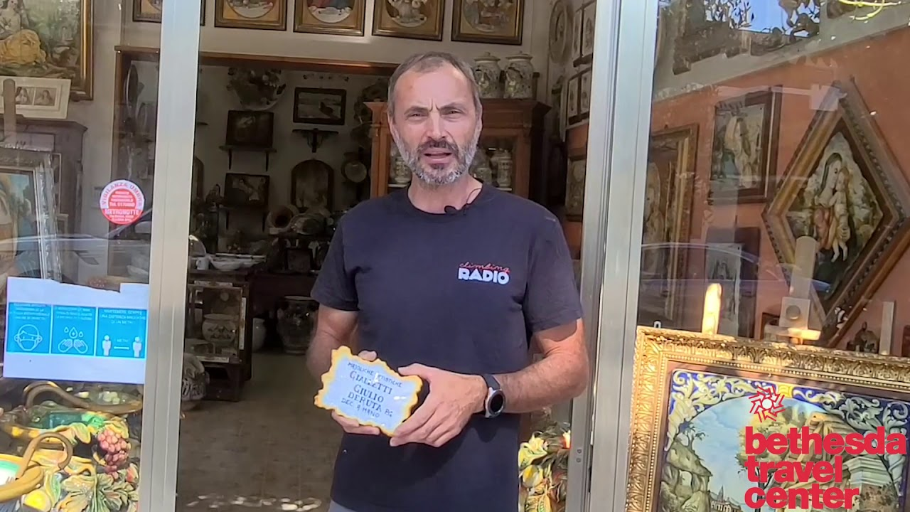 Vibrant Italian Ceramics Come to Live in Umbria | Discover Italy with Guido!