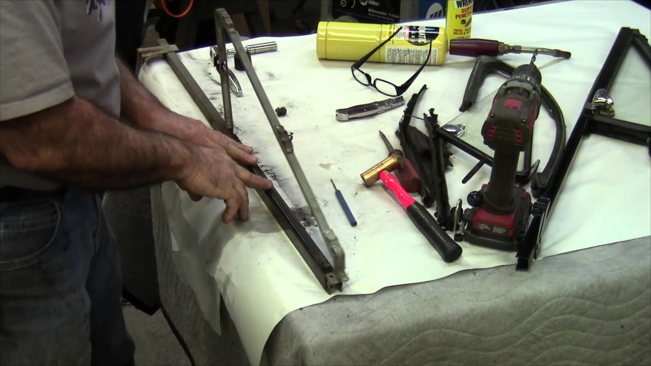 1970 Chevy Pickup >> How to: Vent Window Restoration 1967-72 Chevy Pickup - YouTube