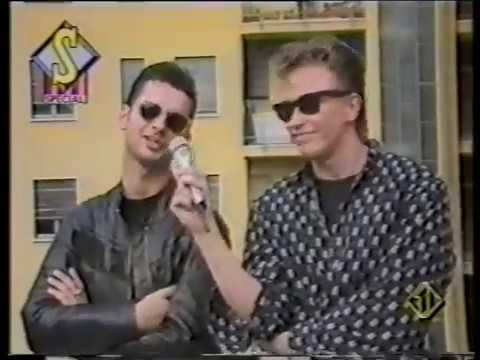 Depeche Mode interview Italy TV 1989