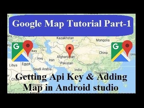 Adding Google Maps to your application in Android Studio using Google Map  API key