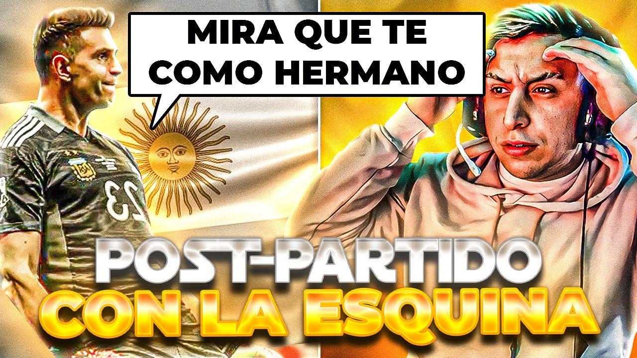 MIRA QUE TE COMO EH ┃ POST PARTIDO ARGENTINA - COLOMBIA
