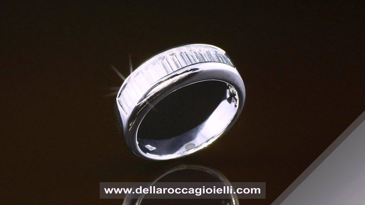 Très Verette con Diamante Prezzi Anelli Prezzi Anelli Fidanzamento  AZ55