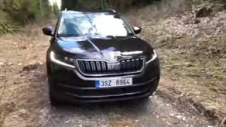 Škoda Kodiaq Style 2.0 TDi 110 kW, DSG, 2017: 4K static and drive (0-100 km/h)