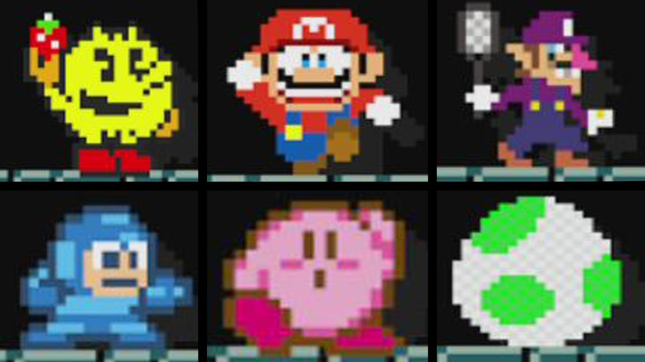 Super Mario Maker - Animations for all 153 Mystery Costumes