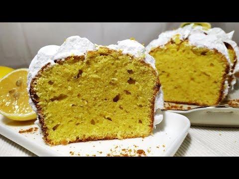 Лимонный Кекс с лимонной Меренгой. Очень Нежный, Мягкий. Нереально Вкусный