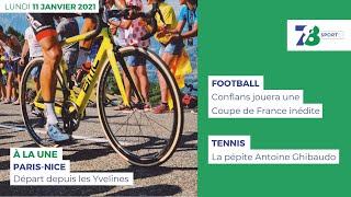 7/8 Sports. Emission du 11 janvier 2021