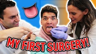 Getting My TONGUE REMOVED?! (Not Clickbait)