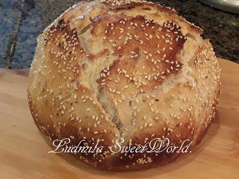 Хлеб на закваске.  Самый удачный и вкусный!