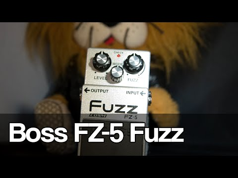 boss fz 5 fuzz and lesson on early fuzz pedals youtube. Black Bedroom Furniture Sets. Home Design Ideas