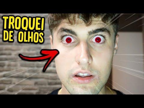 OLHA O QUE ACONTECEU COM MEUS OLHOS !! ( DEU RUIM !! ) [ REZENDE EVIL ]