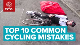 Top 10 Common Cycling Mistakes