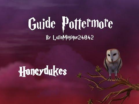 Guide Pottermore // Honeydukes [FR]