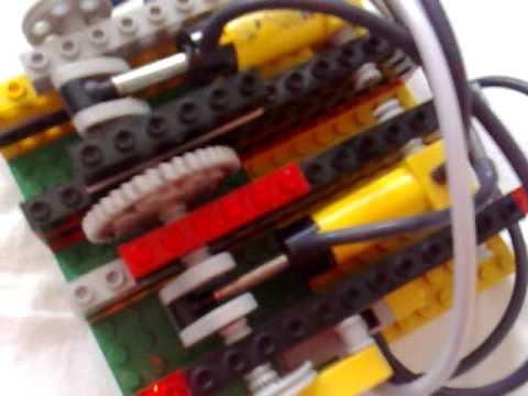 2 zylinder lego pneumatic motor