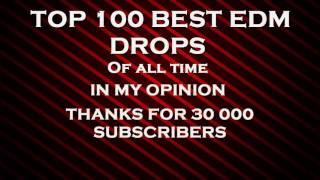 TOP 100 EDM DROPS MIX