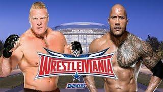 WWE: WrestleMania 32 The Rock vs Brock Lesnar Promo