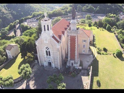 ACTUA DRONE et Notre Dame de Pipet - Vienne - Isère - France