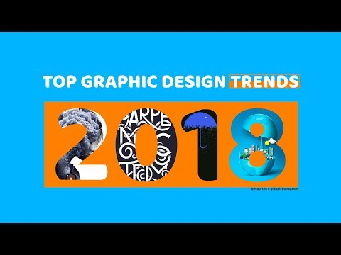 Top Graphic Design Trends 2018
