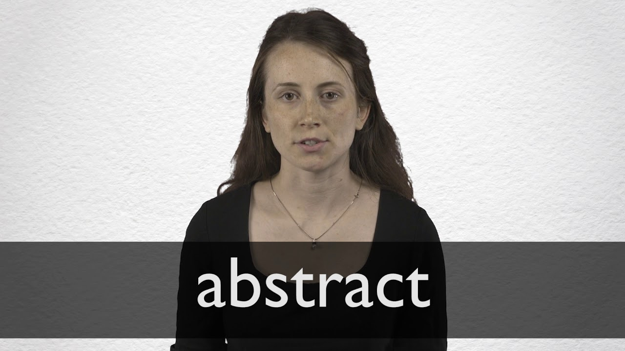 Abstract Synonyms | Collins English Thesaurus