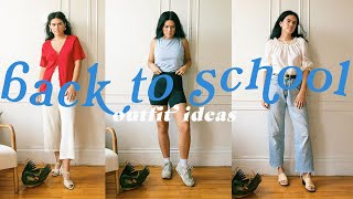 THRIFTED BACK TO SCHOOL LOOKBOOK