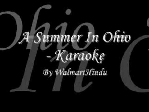 A Summer In Ohio Karaoke - The Last Five Years