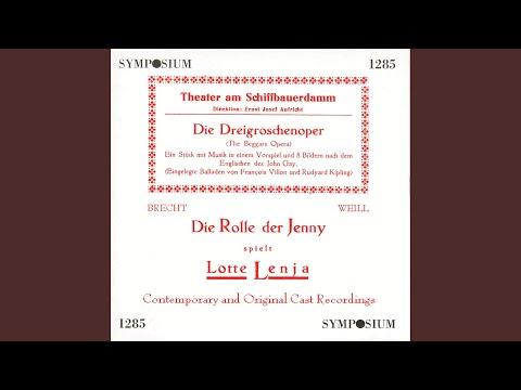 Die Dreigroschenoper (The Threepenny Opera) : Prelude: Moritat von Mackie Messer (Ballad of...