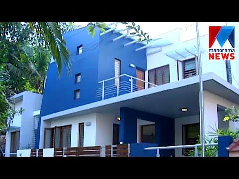 Contemporary style home | Veedu | Manorama News - YouTube
