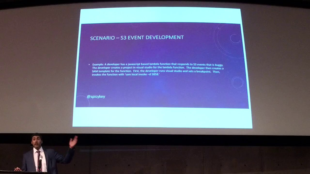 AWS DC Meetup - AWS SAM, CloudFormation with ECS and Cloud Comparisons