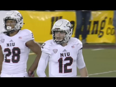 Northern Illinois vs Wyoming football full game 2016
