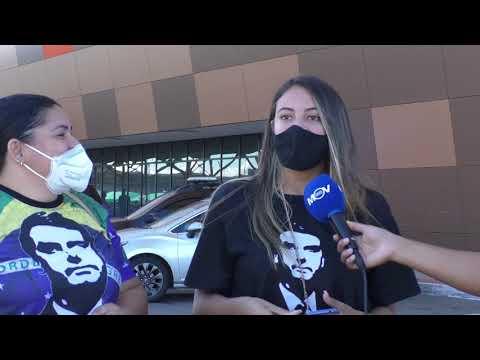 Apoiadores de Bolsonaro marcam chegada do presidente no ES  SIGA @JORNALMOVNEWS INSTAGRAM