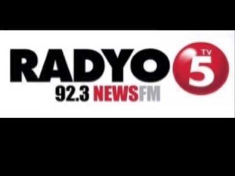 TV5 Radyo5 92.3 News FM Station ID 2017