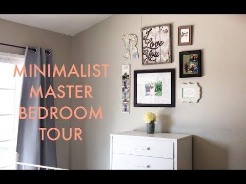 Minimalist Master Bedroom Tour / Simple Decor / On A Budget
