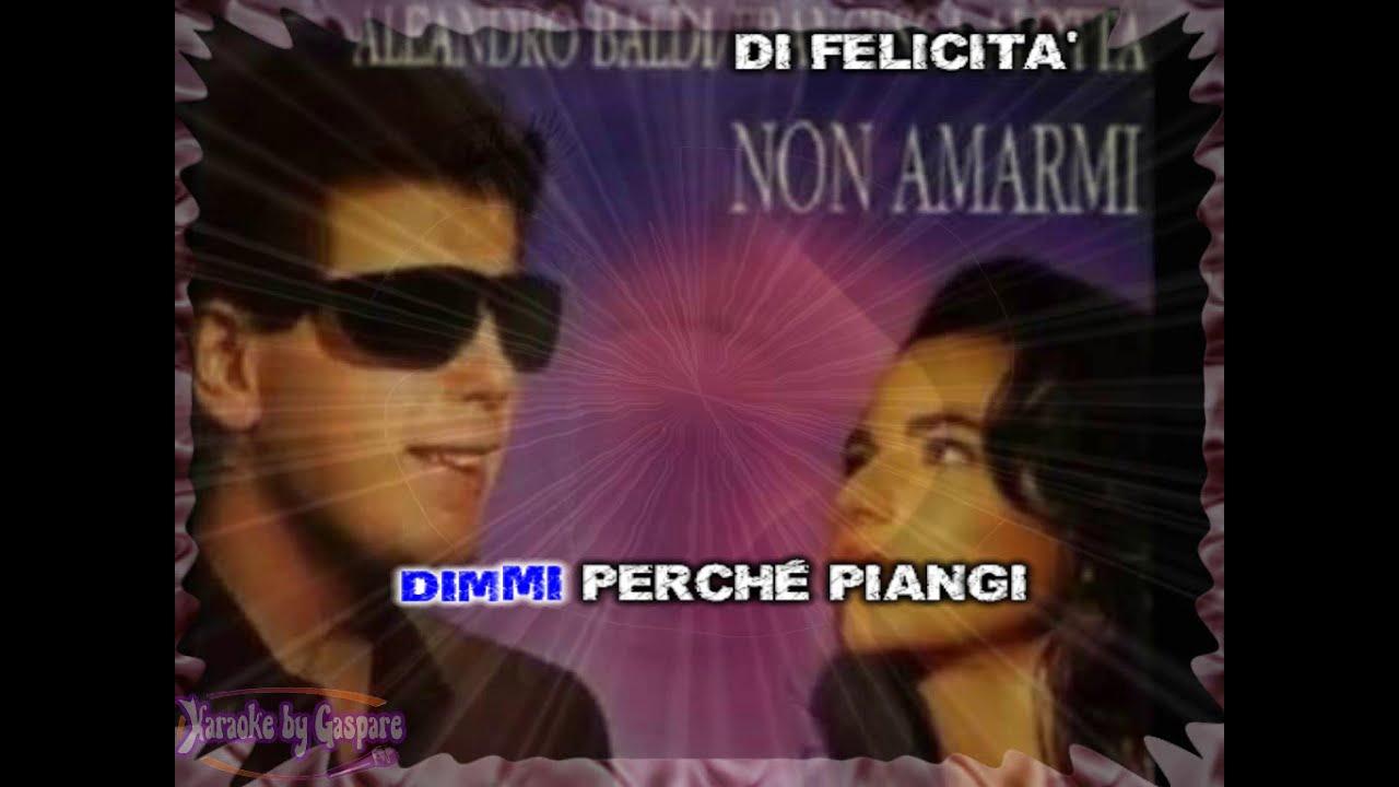 Aleandro Baldi e Francesca Alotta - Non amarmi (Karaoke - fair use) -  YouTube