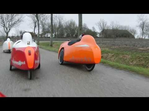 Nothern velomobile ride 2011