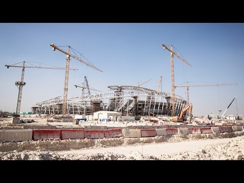 Al Wakrah Stadium Progress – March 2018