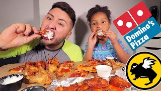 DOMINOS PIZZA & BUFFALO WILD WINGS FEAST