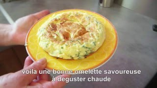 comment préparer une délicieuse omelette maison au fromage italien