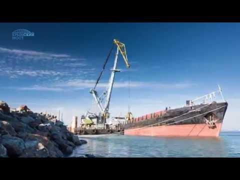 Керченский мост 12 02 2017  Мост Путина