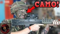 Matt Cams Up! Camouflage face paint Chat!