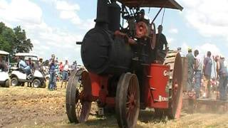 Gaar Scott Steam Engine Plowing National Threshers 2011